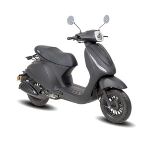 AGM Icon 50 Mat zwart AAH Scooters