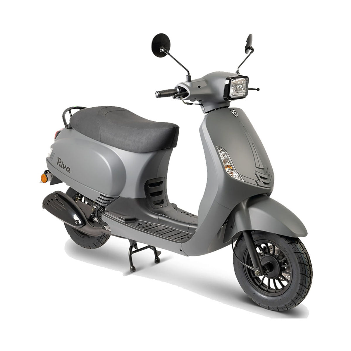 BTC Riva i Sport Grijs Metalic AAH Scooters