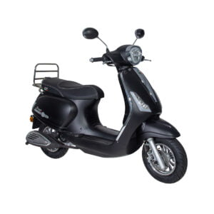 GTS Bravo Carbon Black AAH Scooters