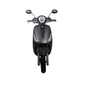 GTS Bravo voorkant Carbon Black AAH Scooters
