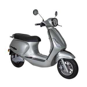 GTS E Bravo Caserta Mat Silver AAH Scooters