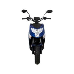 GTS Enzo Voorkant Marino Blue AAH Scooters