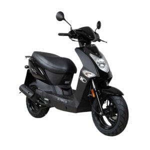 Kymco Agility FR Zwart AAH Scooters