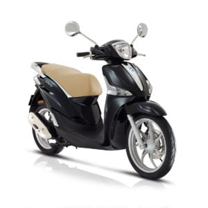 AAHScooters Piaggio Liberty_Zwart