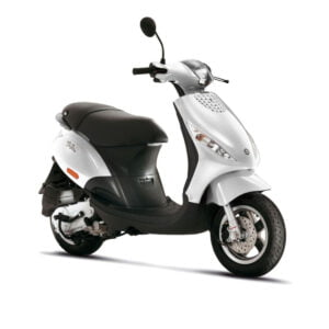 AAHScooters Piaggio Zip_Wit
