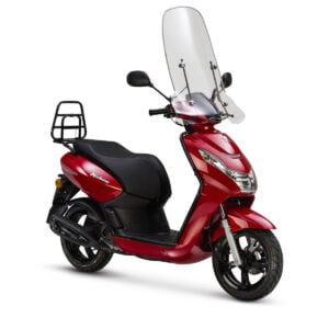 AAHScooters_Peugeot_Kisbee Premium_Cherry Red