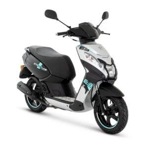 AAHScooters_Peugeot_Kisbee Streetline_Satin Flash Silver