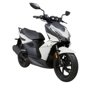 New Super 8R 50 Wit Zwart AAHScooters